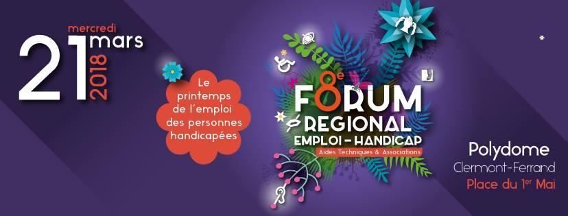 handiforum-Forum Régional Emploi Handicap- clermont-entrepreneurs-handicapes